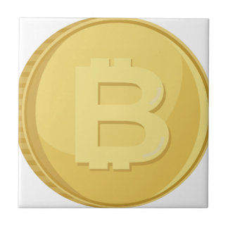 Bitcoin Cryptocurrency Tile