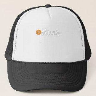 Bitcoin cryptocurrency tshirt trucker hat