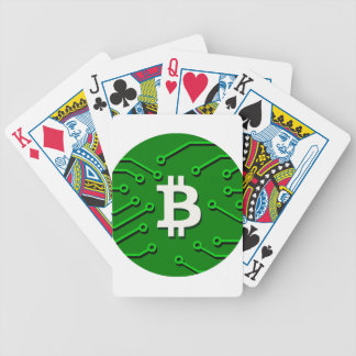 Bitcoin Currency Bicycle Playing Cards
