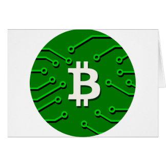 Bitcoin Currency Card