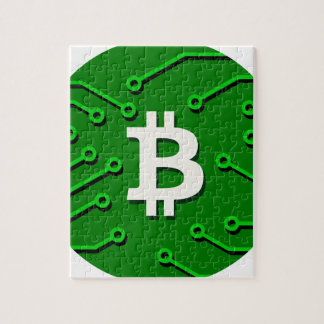 Bitcoin Currency Jigsaw Puzzle
