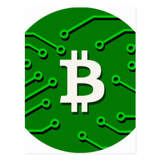 Bitcoin Currency Postcard