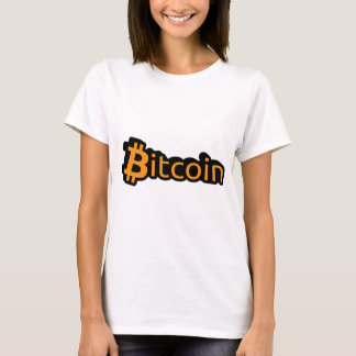 Bitcoin dollar writing T-Shirt