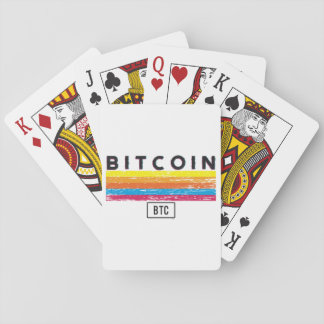 Bitcoin Express Playing Cards