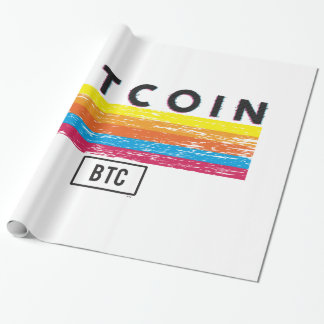 Bitcoin Express Wrapping Paper