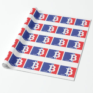 Bitcoin Fashion Wrapping Paper