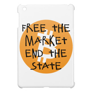Bitcoin - Free the Market End the State Cover For The iPad Mini