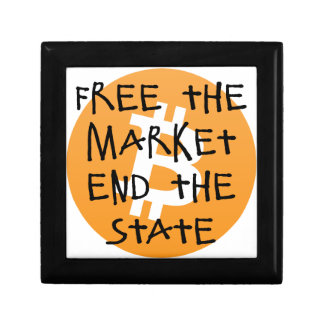 Bitcoin - Free the Market End the State Gift Box