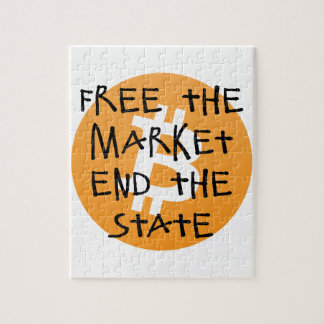 Bitcoin - Free the Market End the State Puzzle