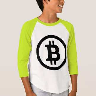 BITCOIN - Kids' American Apparel 3/4 Sleeve Raglan Tshirts