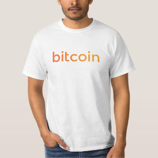 Bitcoin Logo Gradient T-Shirt