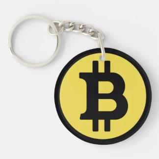 Bitcoin Logo Key Chain
