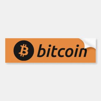 Bitcoin Logo Magnet Bumper Sticker