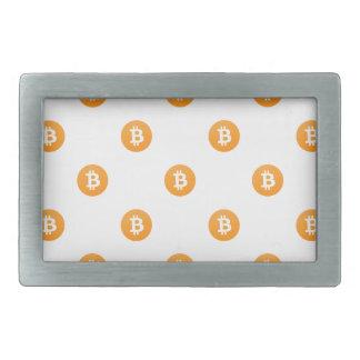 Bitcoin Logo Pattern Belt Buckles