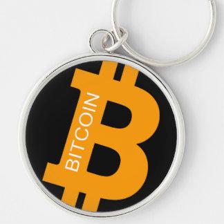 Bitcoin Logo Premium Large Key Chain