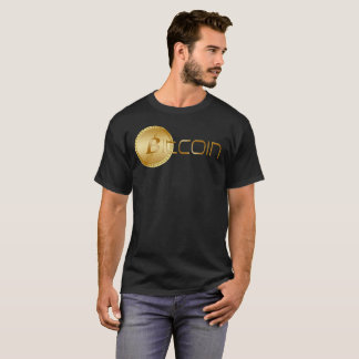 Bitcoin Logo Symbol Cryptocurrency Dark T-Shirt