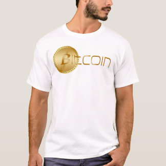Bitcoin Logo Symbol Cryptocurrency Light T-Shirt