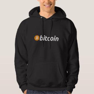 Bitcoin logo writing Kapu Hoodie
