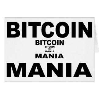 Bitcoin Mania Card
