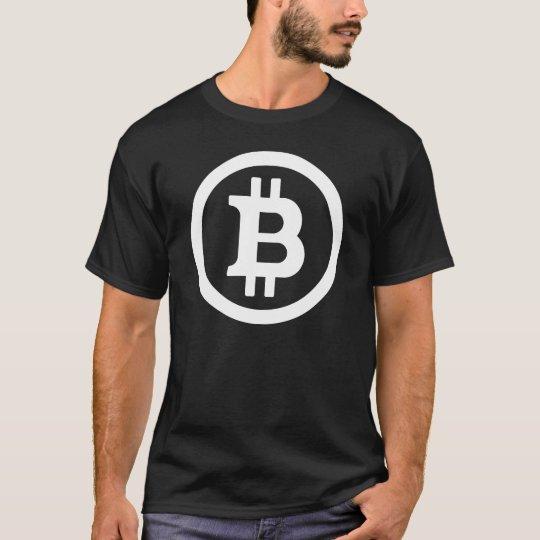 BITCOIN - Men's Basic T-Shirt - DARK