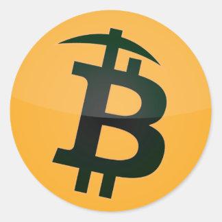 Bitcoin Miner Logo Sticker