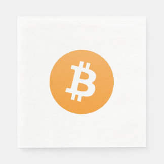 Bitcoin Party Napkins Disposable Napkin