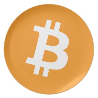 Bitcoin Plate