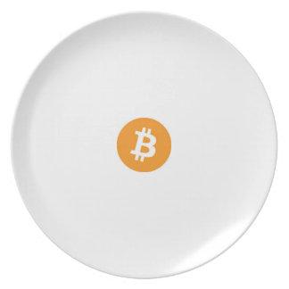 Bitcoin Plate Melamine