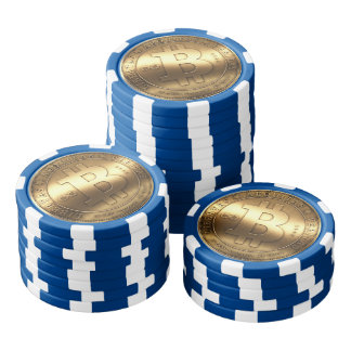 Bitcoin Poker Chip Set Of Poker Chips
