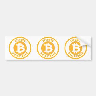 Bitcoin Revolution Bumper Sticker