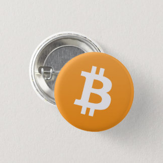 Bitcoin Round Button