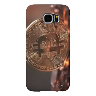 Bitcoin  Samsung Galaxy S6, Barely There Phone Cas Samsung Galaxy S6 Cases