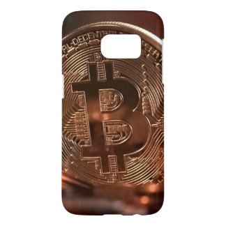 Bitcoin Samsung Galaxy S7, Barely There Phone Case
