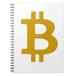 Bitcoin Spiral Notebook