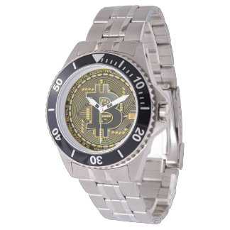 Bitcoin Stainless Watch