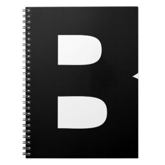 Bitcoin Symbol Notebook