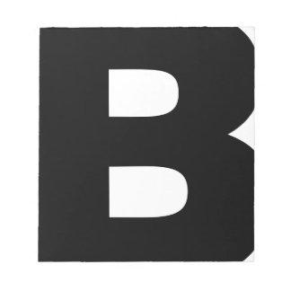Bitcoin Symbol Notepad