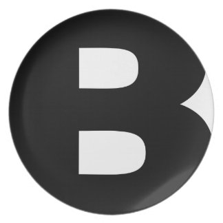 Bitcoin Symbol Plate