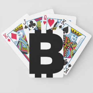 Bitcoin Symbol Poker Deck