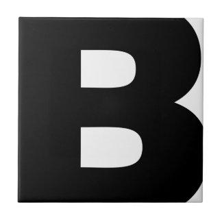 Bitcoin Symbol Tile