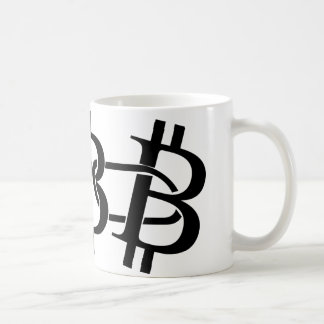 Bitcoin - the digital chain coffee mug