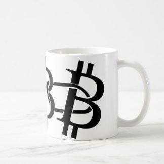 Bitcoin - the digital chain coffee mug