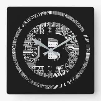 Bitcoin - the internet of money wallclock