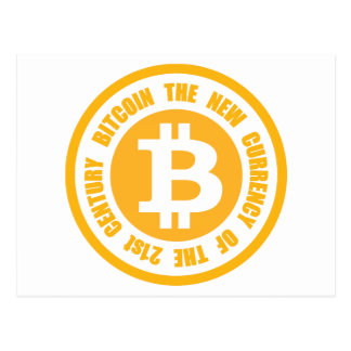 Bitcoin The New Currency Of The 21st Century Postcard