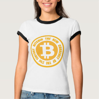 Bitcoin The New Currency Of The 21st Century T-Shirt