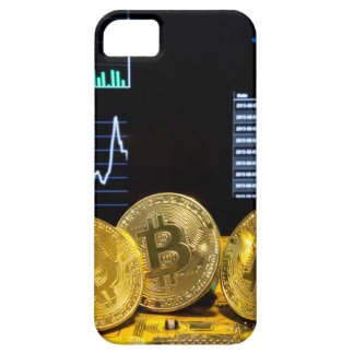 Bitcoin trio circuit market charts clean case for the iPhone 5