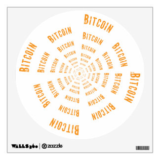 Bitcoin Tunnel is an awesome design that sucks you Wall Sticker