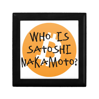 Bitcoin - Who is Satoshi Nakamoto? Gift Box