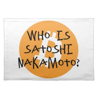 Bitcoin - Who is Satoshi Nakamoto? Placemat