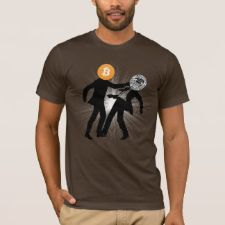 Bitcoin will Knock Out Inflation Fitted Tee